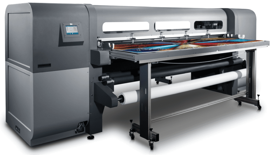 Flatbed wide format printers